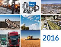 Calendario SKF 2016