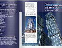 Fold corporate brochure