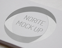 Norite - Photo Real Logo Mock-up