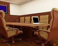 Conference Hall 3D Design