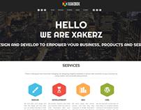 XakBoX Responsive Website