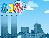 WordCamp San Jose 2018 assest and logos