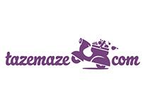 Tazemaze.com Logo