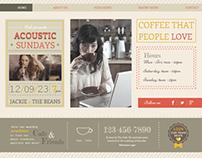 Boho Cafe- Wix Template