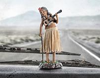 Geriatric Hula Girl - Eaton