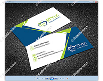 STYLE FASHION AND BEAUTY Business Card - RealMacways