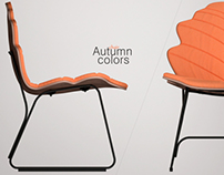 Autumn colors chair