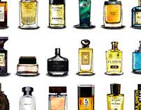 Perfume illustrations of GQ(CHN) 2010