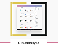 Cloud storage responsive web app