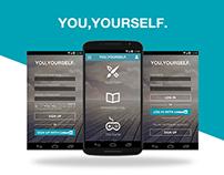 YouYourself Mobile App