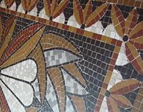 Porcelain Floor Mosaic
