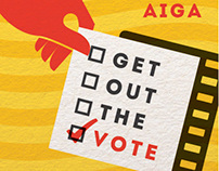AIGA Get Out the Vote 2012