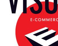 visual ecommerce logo concept