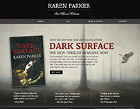Karen Parker- author template for Wix