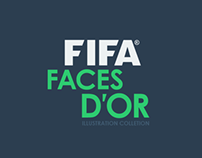 FACES D'OR | Footballers Illustration Collection