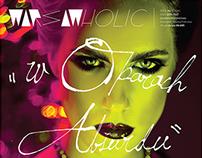 LOGO / WARSAWHOLIC magazine.