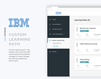IBM Custom Learning Path