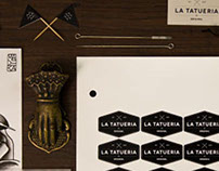 Brand Identity for La Tatueria