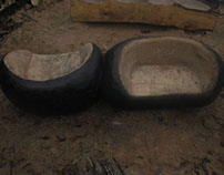 Bute Park Sculpted Seating Commission - Seeds to Seats