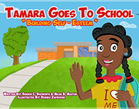 """Tamara Goes To School"", Children Book"