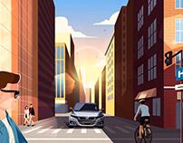Honda Accord // Launch Animatic 2021
