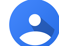 Google Plus Navigation Icons Redesign