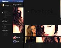 Facebook New Design/Concept (projet amateur)