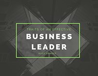 Traits of an Effective Business Leader