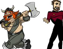 Yogscast Illustration