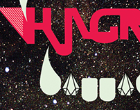 DJ HUNGRY LOGO DESIGN
