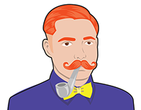 mig.me – Hipster Virtual Stickers