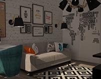 Bedroom for boy