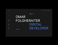 Omar Folgheraiter / Digital Developer — UI Design