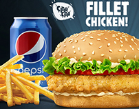Burger King / King Fillet Chicken