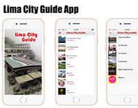Lima City Guide App Screens