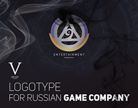 Logotype for Russian GAME COMPANY