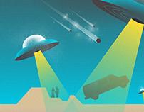 """Black Market """"Tektonik"""" Gig Posters 2"""