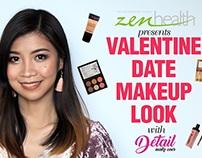 VIDEO: Valentine Date Makeup Tutorial for ZEN Health