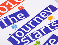 The journey starts here - calendar