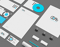 Logo and identity for a branding agency