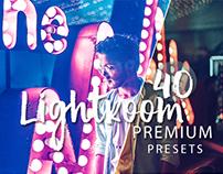 40 Premium Lightroom Presets