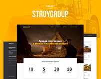 STROYGROUP - rent of special equipment