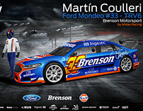 2015 Ford Mondeo TRV6 - Martín Coulleri - Brenson MS