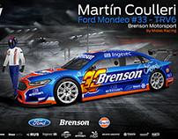 2015 Ford Mondeo TRV6 - Martín Coulleri - Brenson MS