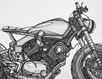 MOTORCYCLE - Sketchbook (design concepts)