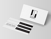 Logo Design & Business Card Design for Pianist
