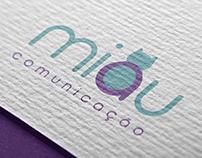 Logo Miau Comunicação