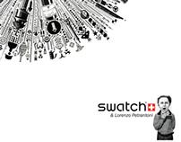 Estudo - Folder para SWATCH