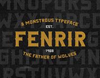 Fenrir Typeface