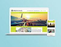 Theme Blog de Wordpress - Desarrollo web